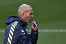 زيدان يعيش أسوء شهر له منذ ان تولى تدريب ريال مدريد