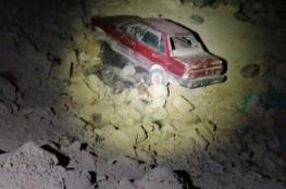 مصرع مواطن بانقلاب مركبته في بلدة زعتره جنوب بيت لحم
