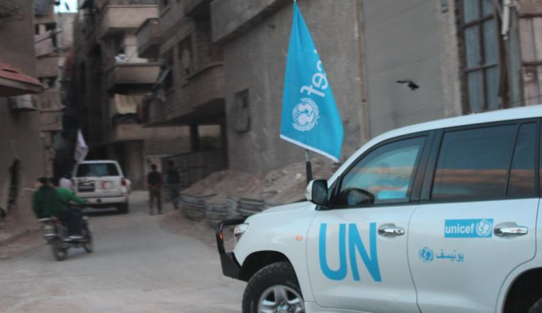 الامم المتحدة تحذر من الاوضاع الانسانية في الغوطة الشرقية بدمشق