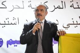 اشتيه يدعو حماس الى الذهاب الى الانتخابات العامة