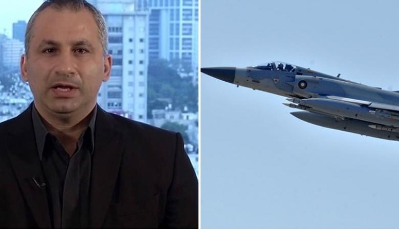 صحفي اسرائيلي لضاحي الخلفان : طائرات اماراتية قصفت غزة