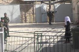 اعتقال فتاة قرب الحرم الابراهيمي بزعم حيازتها لسكين