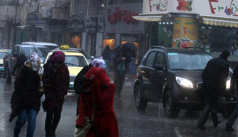 """امتداد منخفض """"تركيا""""  الثلجي يصل المنطقة ابتداءا ً من الغد"""