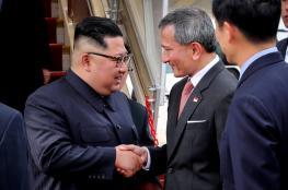 الزعيم الكوري الشمالي يصل مبكرا الى سنغافورة وترامب في الطريق