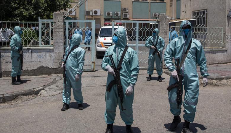 وفاة و127 إصابة جديدة بفيروس كورونا بغزة