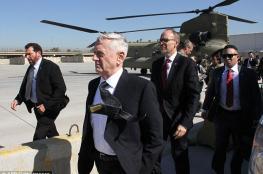"""وزير دفاع ترامب في العراق لتسريع الحرب على """"داعش """""""