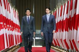 """""""الصين تسرق عقل ترودو""""...رئيس وزراء كندا يقع بالخطأ مرتين خلال لقائه آبي(فيديو)"""