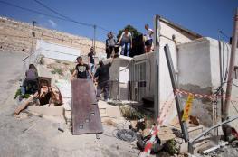 """الاحتلال يهدم غرفتين سكنيتين في منطقة """"المنطار"""" ببادية القدس"""