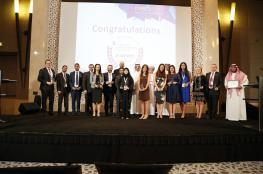 """بنك فلسطين يحصل على جائزة """"الشركة الرائدة في مجال العلاقات مع المستثمرين - المشرق """"2017"""