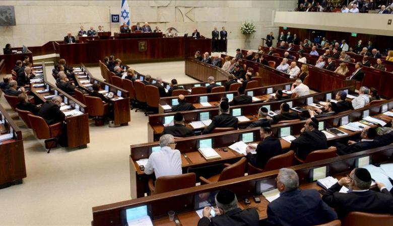 توقعات بحل الكنيست الاسرائيلي مساء اليوم