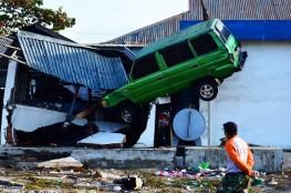 زلزال قوي جديد يضرب وسط اندونيسيا