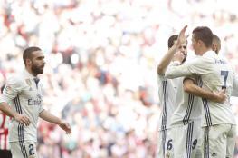 مدريد ينفرد بالصدارة ويحقق فوزاً ثميناً على أتلتيك بيلباو (فيديو )