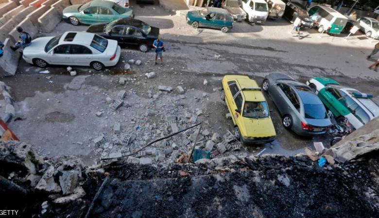 انتحاريون يهاجمون مركز قيادة شرطة دمشق