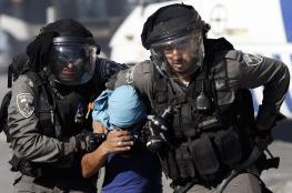 اعتقال 7 مواطنين بينهم سيدة خلال اقتحام مخيم شعفاط