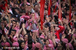 جانب من مناظرة الكتل الطلابية لانتخابات جامعة بيرزيت 2019