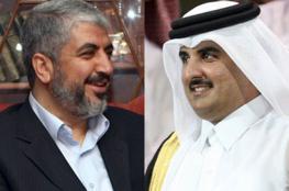 امير قطر يؤكد لخالد مشعل : سنواصل دعم الفلسطينيين