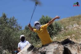 9 اصابات في مواجهات مع الاحتلال في كفرقدوم