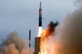 """""""اسرائيل"""" تعلن نجاح منظومة لاعتراض صواريخ ايران وسوريا"""