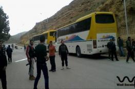 بدء خروج المحاصرين بمقتضى اتفاق المدن الأربع بسوريا