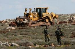 الاحتلال يمنع المزارعين من دخول أراضيهم جنوب وشرق بيت لحم