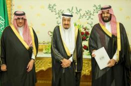 الملك سلمان يرحب بولي عهده الجديد ويشكر السابق