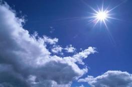 حالة الطقس: الحرارة أعلى من معدلها السنوي العام بحدود درجتين مئويتين