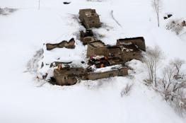 مئات الجثث مفقودة منذ زمن كشفتها انهيارات جليدية
