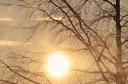 حالة الطقس: غائم وارتفاع درجات الحرارة