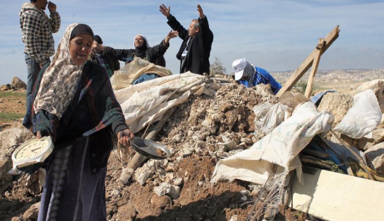 """""""اسرائيل """" تشرع ببناء مخيمات لتسكين آلاف الفلسطينيين فيها"""
