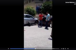 حادث في رام الله.. سائقة تصطدم بـ 4 مركبات متوقفة (فيديو)