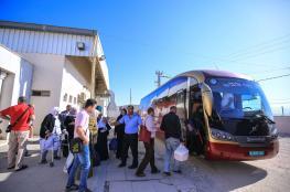 1300 معتمر يغادرون الضفة للديار الحجازية اليوم