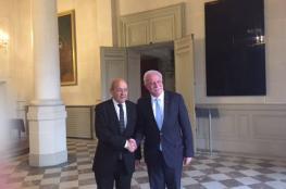 لقاء معمق بين وزير الخارجية المالكي ونظيره الفرنسي