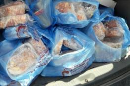 أريحا : اتلاف 200 كغم لحوم دجاج ومواد تموينية فاسدة