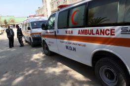 وفاة  فتى بحادث سير في بلدة الظاهرية جنوب الخليل