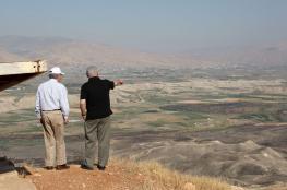 دعوات  لضم الاغوار قبل الانتخابات الاسرائيلية