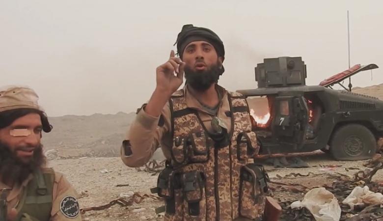 """أمير حرب """"داعش """" في الموصل  يتوعد القوات العراقية والبيشمركة"""