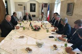 مباحثات بين وزير المالية الفلسطيني ونظيره الفرنسي برام الله