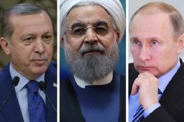 اسرائيل قلقة من التحالف الروسي التركي الايراني