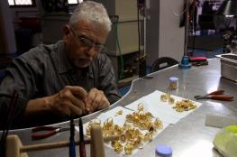 السوق الفلسطيني استورد 8 اطنان من الذهب خلال العام الماضي