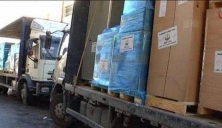 تسيير قافلة أدوية من رام الله لغزة