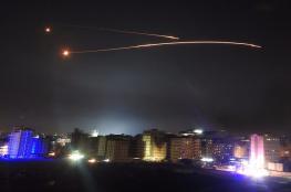 اسرائيل تقصف دمشق والدفاعات الجوية السورية تتصدى