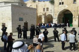 """""""اتحاد منظمات الهيكل"""" يدعو اليهود لـ""""اجتياح"""" المسجد الأقصى غدا"""