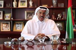 رجل أعمال اماراتي بارز يدعو لابرام اتفاق سلام مع اسرائيل