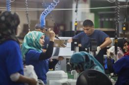 فلسطين : ترخيص 12 مصنع وتوقعات بتوفير 500 فرصة عمل