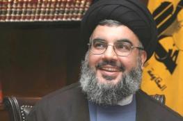 نصر الله يعلن تفكيك نقاط حزبه العسكرية على الحدود مع سوريا
