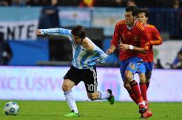 ميسي : لا اريد مواجهة المنتخب الاسباني في كأس العالم