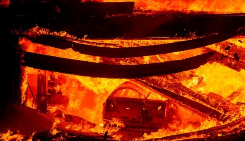 """""""الحرائق المرعبة"""" تواصل اجتياح ولاية كاليفورنيا الامريكية"""