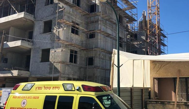 وفاة عامل من طولكرم اثر سقوطه عن الطابق الـ4 في نتانيا