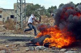 اصابات في قمع الاحتلال لمسيرة سلمية شمال غرب نابلس