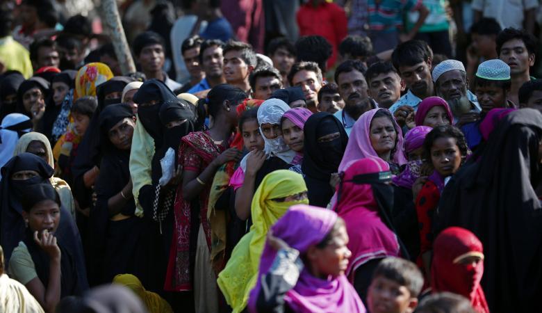 سلطات ميانمار تعتقل نحو 100 من الروهينجا
